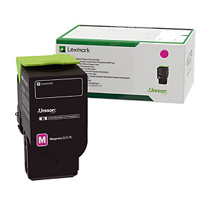 Cartouche toner Lexmark C2320M0 coloris magenta