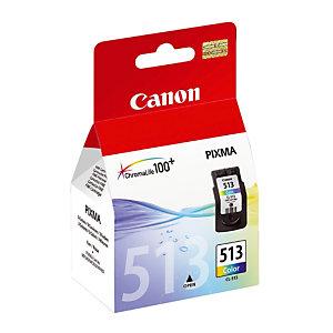 Cartridge Canon CL 513 XL driekleurige (cyaan + magenta + geel) voor inkjet printers