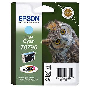 Cartridge Epson T0795 licht cyaan voor inkjet printers