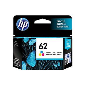 Cartridge HP 62 kleuren (cyaan + magenta + geel) voor inkjet printers