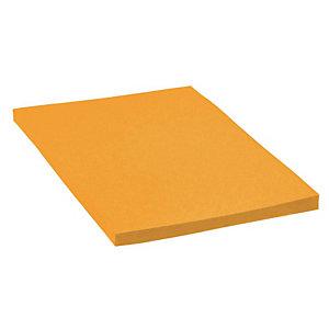Cartulina de colores 500 x 650 mm 180 gr naranja 25 hojas