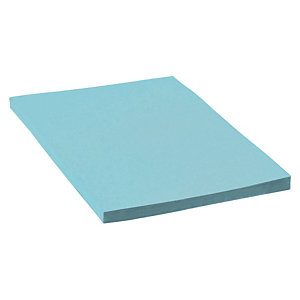 Cartulina de colores A4 180 gr azul 100 hojas