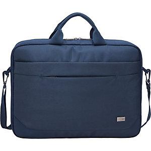 """Case Logic Advantage Attaché, Bolsa para ordenador portátil de 15.6"""", azul oscuro"""