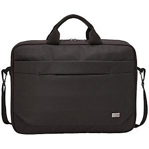 """Case Logic Advantage Attaché, Bolsa para ordenador portátil de 15.6"""", negro"""
