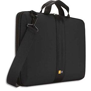 CASE LOGIC Housse semi rigide avec poignée pour PC portable de 14'' à 16'' L41,7 x H29 x P4,1 cm Noir