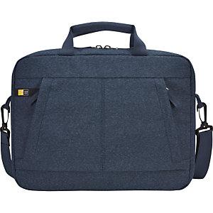 Case Logic Huxton, mallette pour ordinateur portable et tablette 13,3pouces, polyester, Bleu