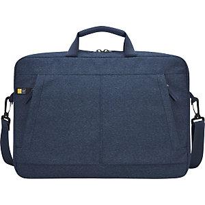 Case Logic Huxton, mallette pour ordinateur portable et tablette 15,6pouces, polyester, Bleu