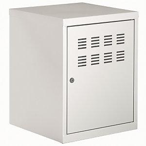 Casier vestiaire modulaire - H. 51 - Aluminium