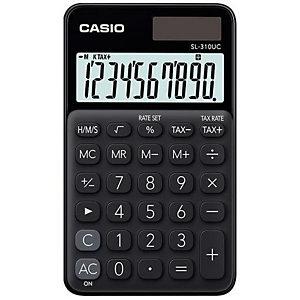 Casio, Calcolatrici, Casio sl-310uc-bk, SL-310UC-BK