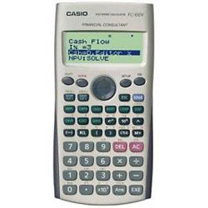 Casio, Calcolatrici, Finanziaria   10 cifre (10+2), FC-100V