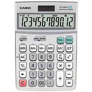CASIO Calculatrice de bureau CASIO DF-120ECO - 12 chiffres