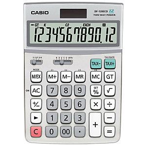 Casio Calculatrice de bureau  DF-120ECO - 12 chiffres