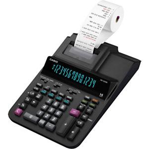Casio Calculatrice imprimante DR-320RE, 14 chiffres - Noire