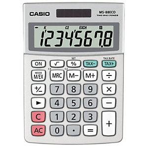 Casio Calculatrice de poche  MS88ECO - 8 chiffres