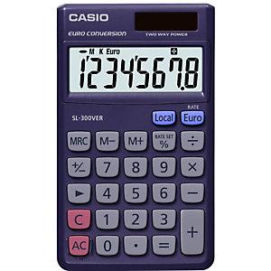 Casio Calculatrice de poche  SL-300VER - 8 chiffres