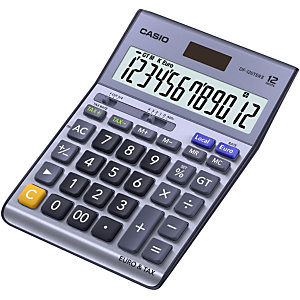 Casio DF-120TER II calculadora de escritorio
