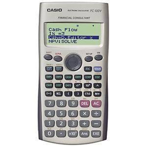 Casio FC-100V  calculatrice financière programmable 10 chiffres + 2 paramétrables