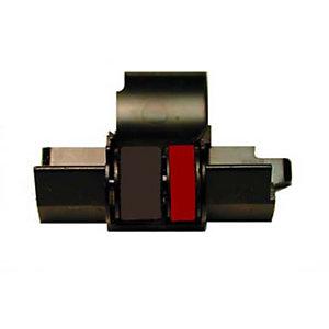 Casio IR-40T, Rodillo entintador, negro y rojo
