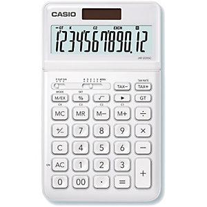 Casio JW-200SC-BK Calculadora de escritorio, blanca
