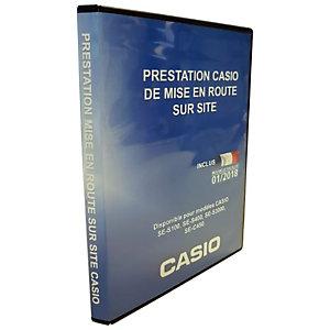 Casio Mise en route de caisse enregistreuse sur site