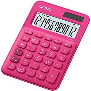 Casio MS-20UC Calculadora de escritorio, rojo