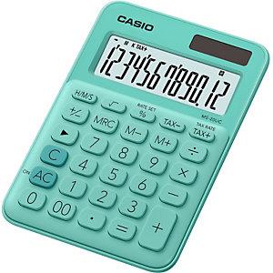 Casio MS-20UC Calculadora de escritorio, verde