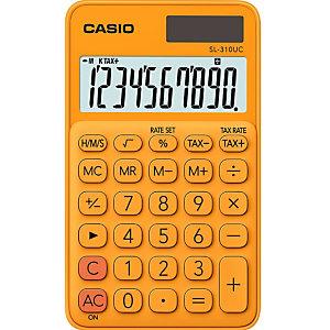Casio SL-310UC Calculadora de bolsillo, naranja