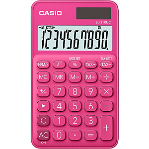 Casio SL-310UC Calculadora de bolsillo, rojo