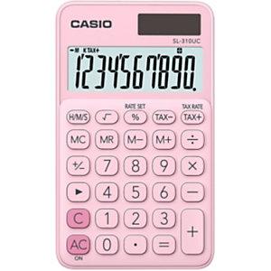 Casio SL-310UC Calculadora de bolsillo, rosa