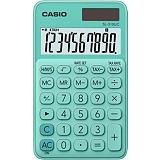 Casio SL-310UC Calculadora de bolsillo, verde