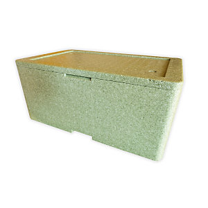 Cassa termica in polistirolo espanso, 57,8 x 37,4 x 21,1 cm