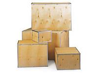 Casse in legno compensato