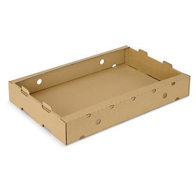 cassetta in cartone per trasporto alimentare