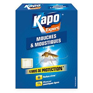 Cassette insecticide anti mouches et moustiques Kapo