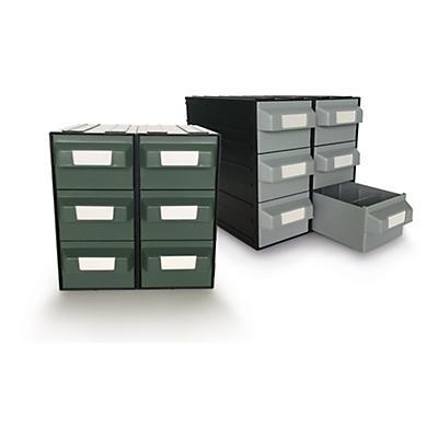 Cassettiera per magazzino componibili