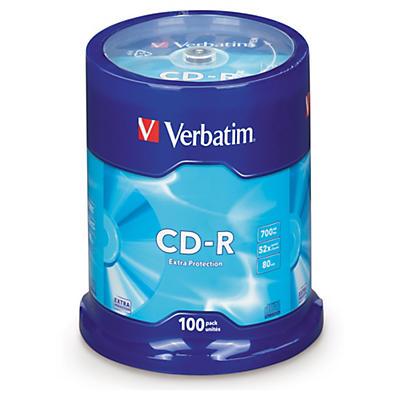 CD-R 52x en spindle VERBATIM