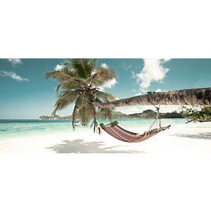 CEANOTHE Quadro decorativo in plexiglass, Siesta Tropicale, 65 x 145 cm