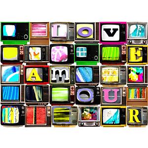 CEANOTHE Quadro decorativo, TV Screens, 45 x 30 cm