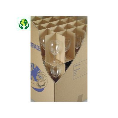 Celdas interiores para cajas de mudanza