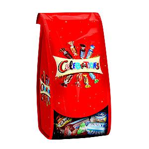 Celebrations assortiment de chocolats ballotin, forme corolle,190 g
