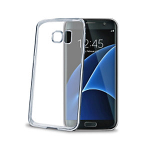 Celly, Cover, Laser cover galaxy s7 edge silver, BCLS7ESV
