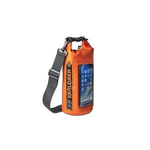Celly, Custodie impermeabili e sport, Explorer drybag2l up to 6.5 or, EXPLORER2LOR