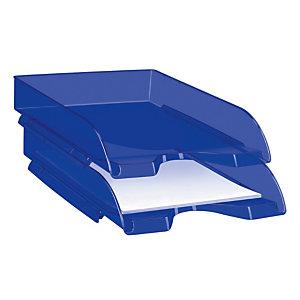 Cep Bac à courrier Happy 200+H 34,8x25,7x6,6cm Polystyrène Bleu électrique