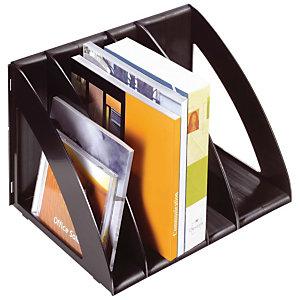 Cep Confort 675 Revistero clasificador vertical, poliestireno, 300x220x220 mm, negro