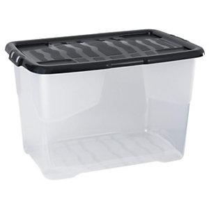 Cep Contenitori multiuso Curve Box, Capacità 65 l, 60 x 39,7 x 37,8 cm