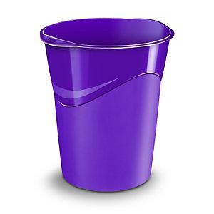 Cep Corbeille à papier Gloss280G, 14litres, 305x290x334mm, polypropylène, violet
