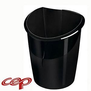 Cep Ellypse Owa Cestino gettacarta, Capacità 15 litri, Nero