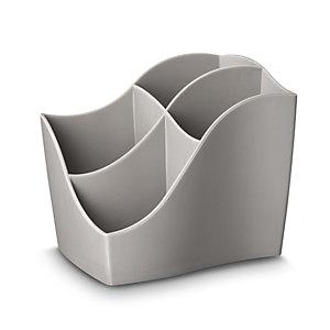 Cep Ellypse Xtra Strong 340 X Organizer da scrivania 4 scomparti, 118 x 89 x 98 mm, Polistirene Grigio talpa