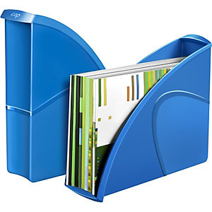 Cep Gloss 674+ G Revistero, poliestireno, 85 x 310 x 270 mm, azul