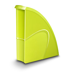 Cep Gloss 674+ G Revistero, poliestireno, 85 x 310 x 270 mm, verde